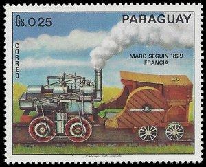 Paraguay #1399d 1972 Mint H