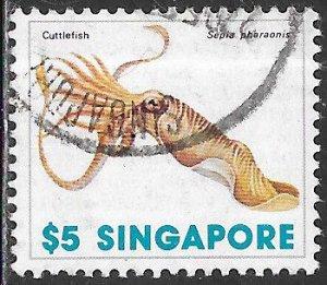 Singapore 274 Used - Sea Life - Pharaoh Cuttlefish (Sepia pharaonis)