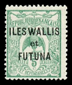Wallis and Futuna Islands 4 Mint (NH)