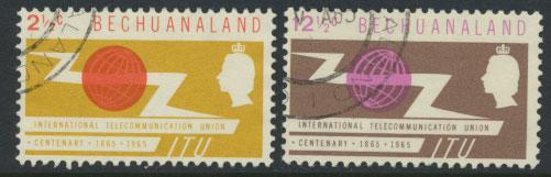 Bechuanaland  SG 190 - 191 Fine Used