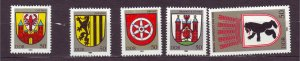 J23265 JL stamps 1983 DDR germany set mnh #2364-8 city arms