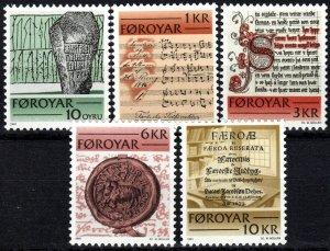 Faroe Islands #65-9 MNH CV $5.85  (P638)