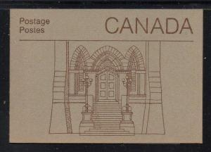 Canada Sc 939,941,947  cpl booklet  USC#BK88  mint NH Library Doors cover