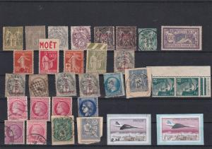 France Mixed Stamps Ref 31729