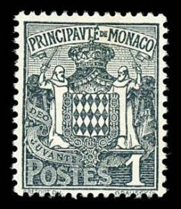 Monaco 60 Unused (MH)