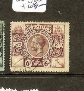 BERMUDA (P0710B) KGV 6D   SG72     VFU