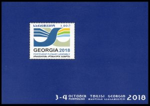 2018 Georgia 723/B83 PostEurop Plenary Assembly