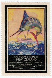 (I.B) New Zealand Cinderella : Government Tourist Office (Sportman's Paradise)