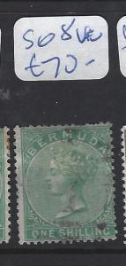 BERMUDA (P0404B)  QV   1/-  SG8 VFU
