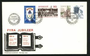 Sweden FDC Cachet 1979 IOGT 100 Year. 4 Jubilee