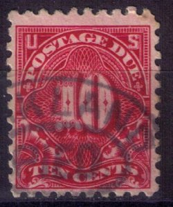 US Sc #J56 Used Deep Carmine Very Fine