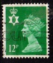 Northern Ireland - #NIMH18 Machin Queen Elizabeth II - Used