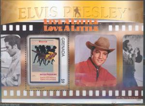 GRENADA ELVIS IN THE MOVIES LIVE A LITTLE LOVE A LITTLE S/SHEET PART I