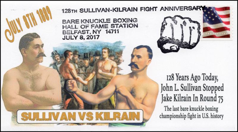 17-137, 2017, Bare Knuckle Boxing Hall of Fame, 128 years, Pictorial