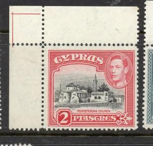 Cyprus 1938 Early Issue Fine Mint hinged Marginal 2p. 303649