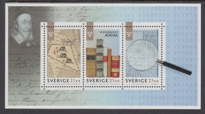 Sweden 2816 Souvenir Sheet MNH VF