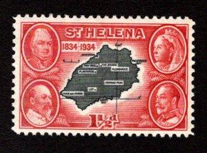 ST. HELENA  SC# 103  VF/MOG