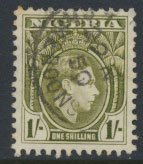 Nigeria  SG 56a    Used  Perf 11½  1950 Definitive please see scan