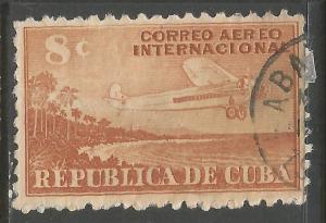 CUBA C40 VFU AIRPLANE Z4-135-4
