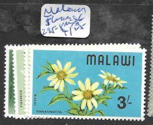 MALAWI (P1903B)  FLOWERS SG 295-8  MNH