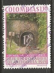 COLOMBIA 824 USED LOCOMOTIVE 1021G