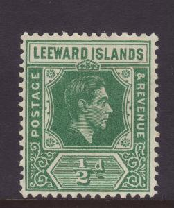 1938 Leeward Islands ½d Mounted Mint SG96