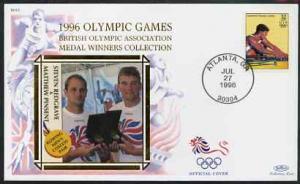 United States 1996 Atlanta Olympics 32c Men\'s Rowing on ...