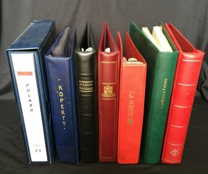 Lighthouse Lindner Ring Albums x 7+Some Pages(8kg+)(K38