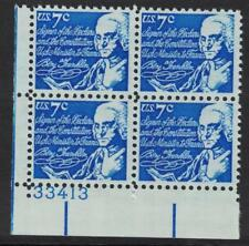 SCOTT # 1393D MINT NEVER HINGED GEM PLATE BLOCK FOR ALL COLLECTORS