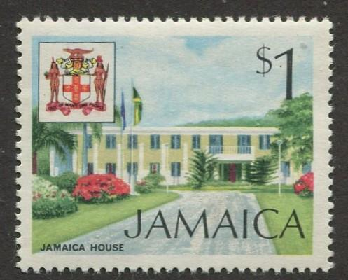 Jamaica - Scott 356 - QEII Definitive -1972 - MNH - Single $1.00c Stamp