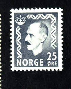 NORWAY #322 MINT VF OG HR CAT $25