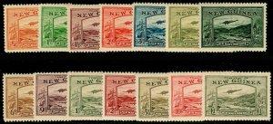 AUSTRALIA - New Guinea SG212-225, COMPLETE SET, LH MINT. Cat £1100.
