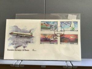 Transkei 1987 Transkei Airways 10 Years    stamps cover R29029