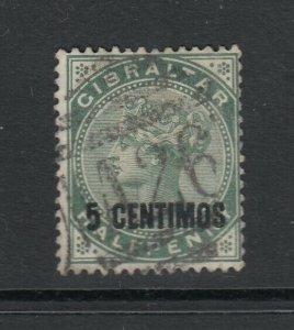 Gibraltar, Sc 22 (SG 15), used