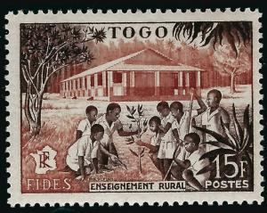 French Togo Teacher with Children (Sc #331) F-VF MNH...Fill a great spot!