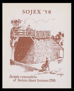 SOJEX 1958 (23rd) Stamp Show - MINT, Never Hinged, F-VF or Better