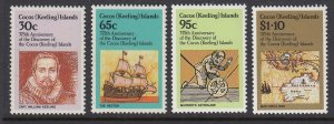 Cocos Islands 115-8 Discovery mnh