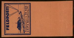 Germany Luftwaffe LGPA Koenigsberg FPN34622 MNH Feldpost Vignette Stamp Im 79094