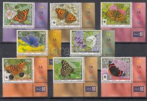 Great Britain Isle of Man stamp WWF corner set 2011 MNH WS115017