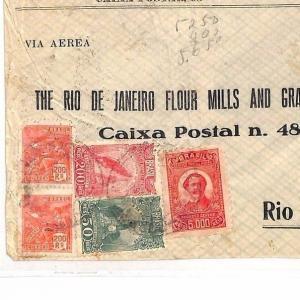 BRAZIL Sao Paulo Rio De Janeiro  Airmail  Cover {samwells-covers} c1931 AE118