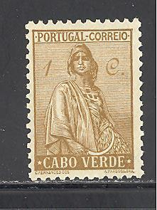 Cape Verde Sc # 215 mint hinged (DT)
