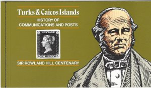 Turks & Caicos 348 Booklet  MNH   Rowland Hill