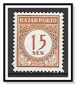 Indonesia #J74 Postage Due MH