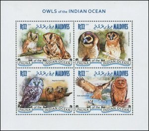 Maldives 2014 Sc 3147 Birds Owl CV $11