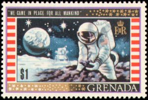 Grenada #328-336, Complete Set(9), 1969, Space, Never Hinged