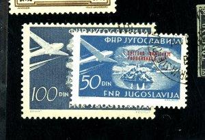YUGOSLAVIA C42 C49 USED FVF Cat $49