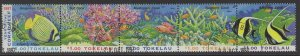 TOKELAU ISLANDS SG268a 1997 YEAR OF THE CORAL REEF FINE USED