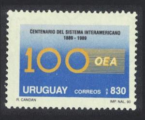 Uruguay Centenary of Organization of American States SG#2018