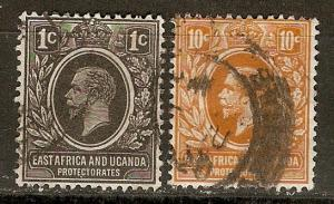 KUT 1,4 SG 43,46 Used F/VF 1921 SCV $3.30