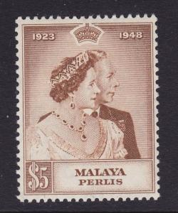 Perlis Scott # 2 VF OG lightly hinged nice color cv $ 33 ! see pic !